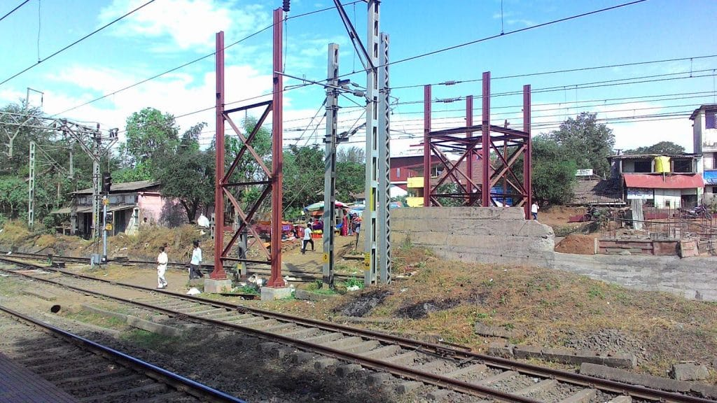 Vangani Train Station